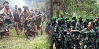 Anggota OPM Kontak Tembak dengan TNI/Polri, 4 Tewas.