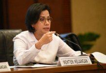 Menteri Keuangan (Menkeu) Sri Mulyani Indrawati.