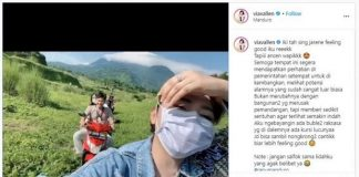 Viral, Video Via Vallen Sambangi Ranu Manduro.