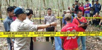 Pelaku Pembunuhan Kepala Dusun Tewas Ditembak Polisi.