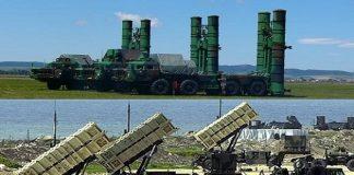 Rudal Patriot AS vs S-400 Rusia.