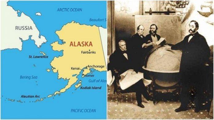 Amerika Serikat Membeli Alaska Dari Rusia.
