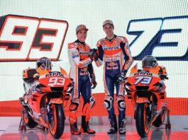 pembalap Repsol Honda,Marc Marquezdan Alex Marquez.