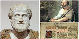 Filsuf Yunani Aristoteles.