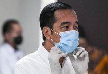 Jokowi: Semua yang Keluar Rumah Wajib Pakai Masker.