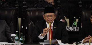 Ketua Majelis Permusyawaratan Rakyat (MPR), Bambang Soesatyo (Bamsoet).