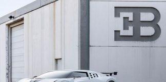 Supercar Bugatti Centodieci.