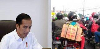 Presiden Jokowi Akui Tak Bisa Melarang Warga Mudik.