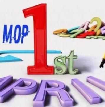 April Mop.