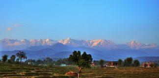 India Lockdown, Gunung Himalaya Bisa Dilihat dari Jauh.