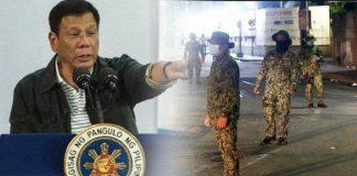 Pria Ditembak Mati karena Langgar Aturan Lockdown di Filipina.