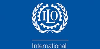 International Labour Organisation (ILO) atau Organisasi Buruh Internasional.