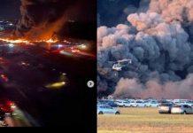 3.500 Mobil Terbakar di Florida AS.