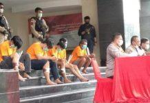 Polisi Ringkus Geng Teras, Perampok Sadis di Depok.