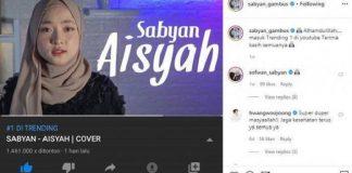 Viral, Fakta Lagu Aisyah Istri Rasulullah yang Jadi Kontroversi.