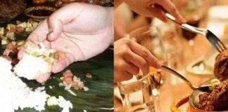 Makan dengan Tangan atau dengan Sendok, Mana Yang Lebih Baik?