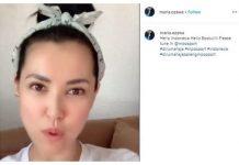 Viral, Maria Ozawa Himbau Warga Indonesia Tetap di Rumah.