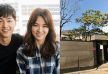 Song Joong Ki Robohkan Rumah Demi Song Hye Kyo.