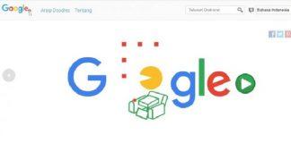 Google Doodle Hadirkan Game Populer Pac Man.