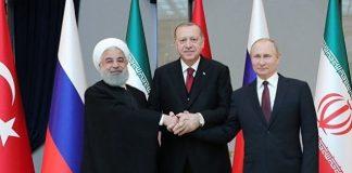 Rusia, Turki, dan Iran Sepakat Singkirkan Presiden Assad.