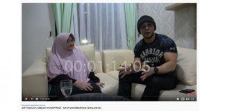 Pertemuan Deddy Corbuzier dengan mantan Menteri Kesehatan (Menkes) Siti Fadilah Supari yang diunggah di akun YouTube.