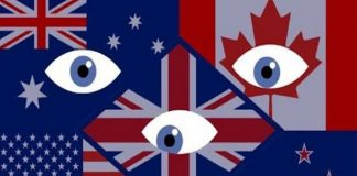 Aliansi Intelijen Five Eyes (Lima Mata).