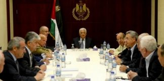 Palestine Liberation Organization (PLO) atau Organisasi Pembebasan Palestina.