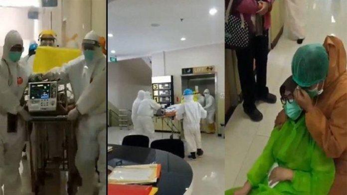 Viral, Video Perawat Hamil Terjangkit Corona Meninggal Bersama Bayinya.