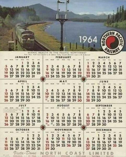 Viral, Kalender Tahun 1964 Sama dengan 2020.