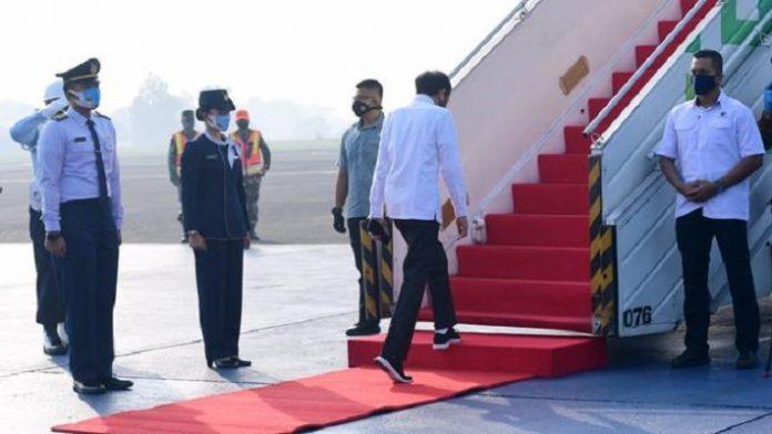 Kunker Jokowi ke Jatim Terapkan Protokol Kesehatan Ketat.