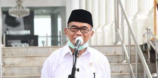 Menteri Koordinator Bidang Pembangunan Manusia dan Kebudayaan (Menko PMK) Muhadjir Effendy.