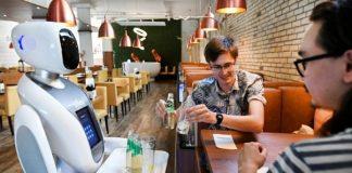 Restoran di Belanda Jadikan Robot Sebagai Pramusaji.