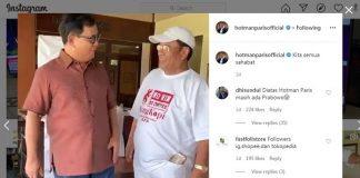 Diajak Main Prabowo, Hotman Paris: Dia Konglomerat dari Muda.