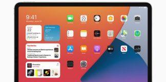 Home Screen iPadOS 14