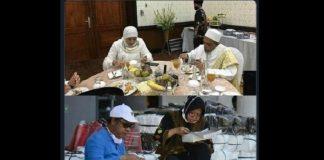 Foto Perbedaan Khofifah dan Risma saat Makan Bikin Heboh Warganet.