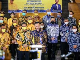 Pertemuan AHY Dengan Airlangga, Golkar-Demokrat Koalisi di Pilkada 2020.