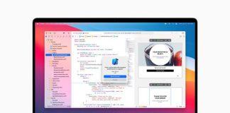 XCode 12 di macOS Big Sur