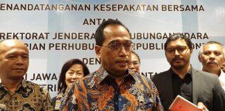 Menteri Perhubungan Budi Karya Sumadi.