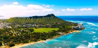 Ilustrasi Hawaii.