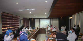 Gugus Tugas Percepatan Penanganan COVID 19 Aceh Besar Pantau Kesiapan PBM di POLTEKPEL Malahayati Aceh.