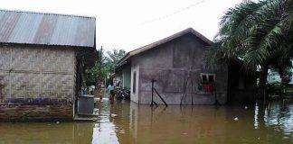 Banjir Rendam Tujuh Desa di Asahan.