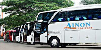 Ilustrasi PO Bus Pariwisata