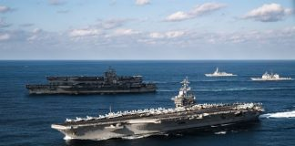 Amerika Kerahkan Tiga Kapal Induk ke Indo-Pasifik, Peringatan bagi China.