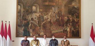 Bertemu Pimpinan DPD, Jokowi Setuju Perkuat Pendidikan Islam.