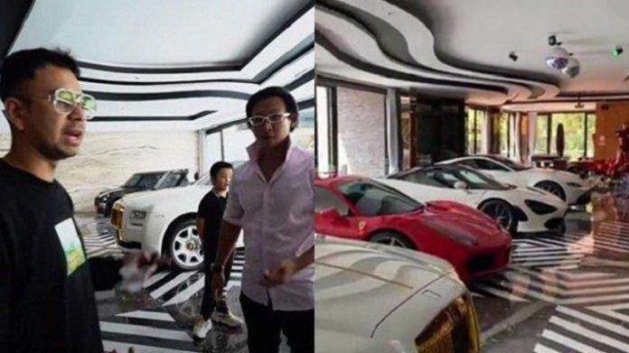 Pengusaha Fransen Susanto Beri Raffi Ahmad Mobil.