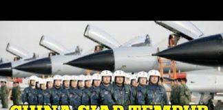 Tumpuk Jet Tempur di Dekat India, China Siap Perang.
