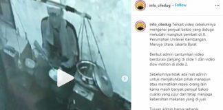 Viral Pedagang Ludahi Mangkok Bakso Ternyata untuk Penglaris.