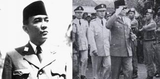 Presiden Pertama Republik Indonesia, Soekarno.