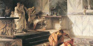 Ilustrasi Kaisar Romawi Nero Bunuh Diri Usai Mengalami Kudeta.
