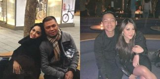 Raul Lemos dan Krisdayanti Bersama Aurel dan Azriel.